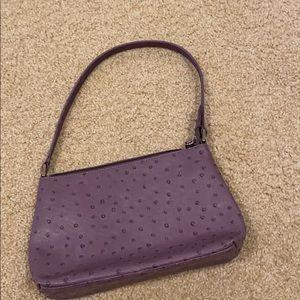 y2k mini purple crocodile mini shoulder bag